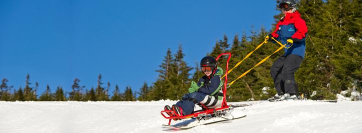 long ski photo