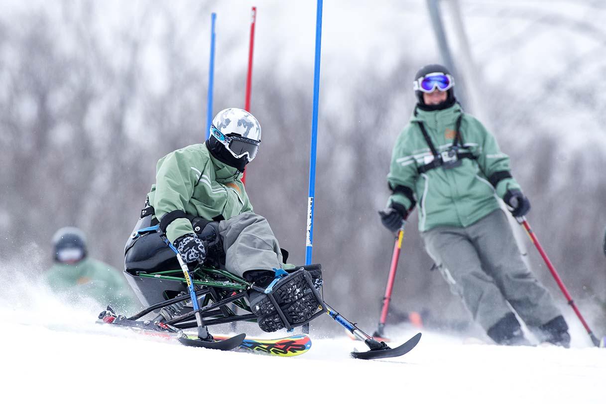 Adaptive Sports Ski Racing